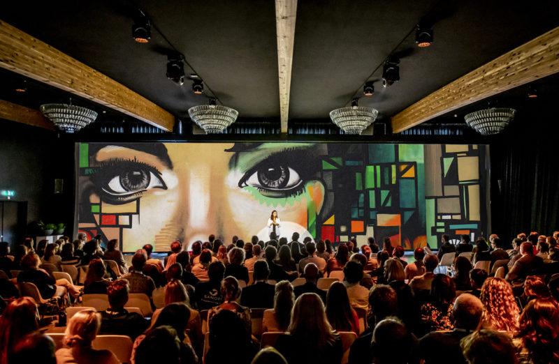 Evenementenlocatie Innovatiekracht Rotterdam scherm