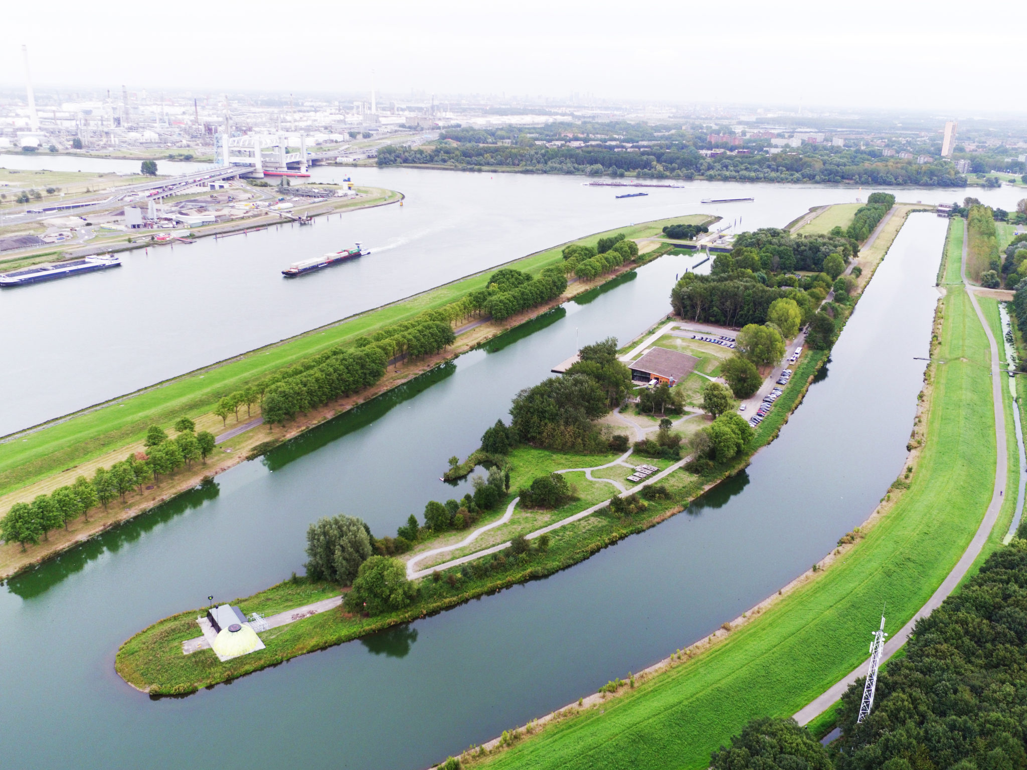 Evenementenlocatie Innovatiekracht landtong Rotterdam