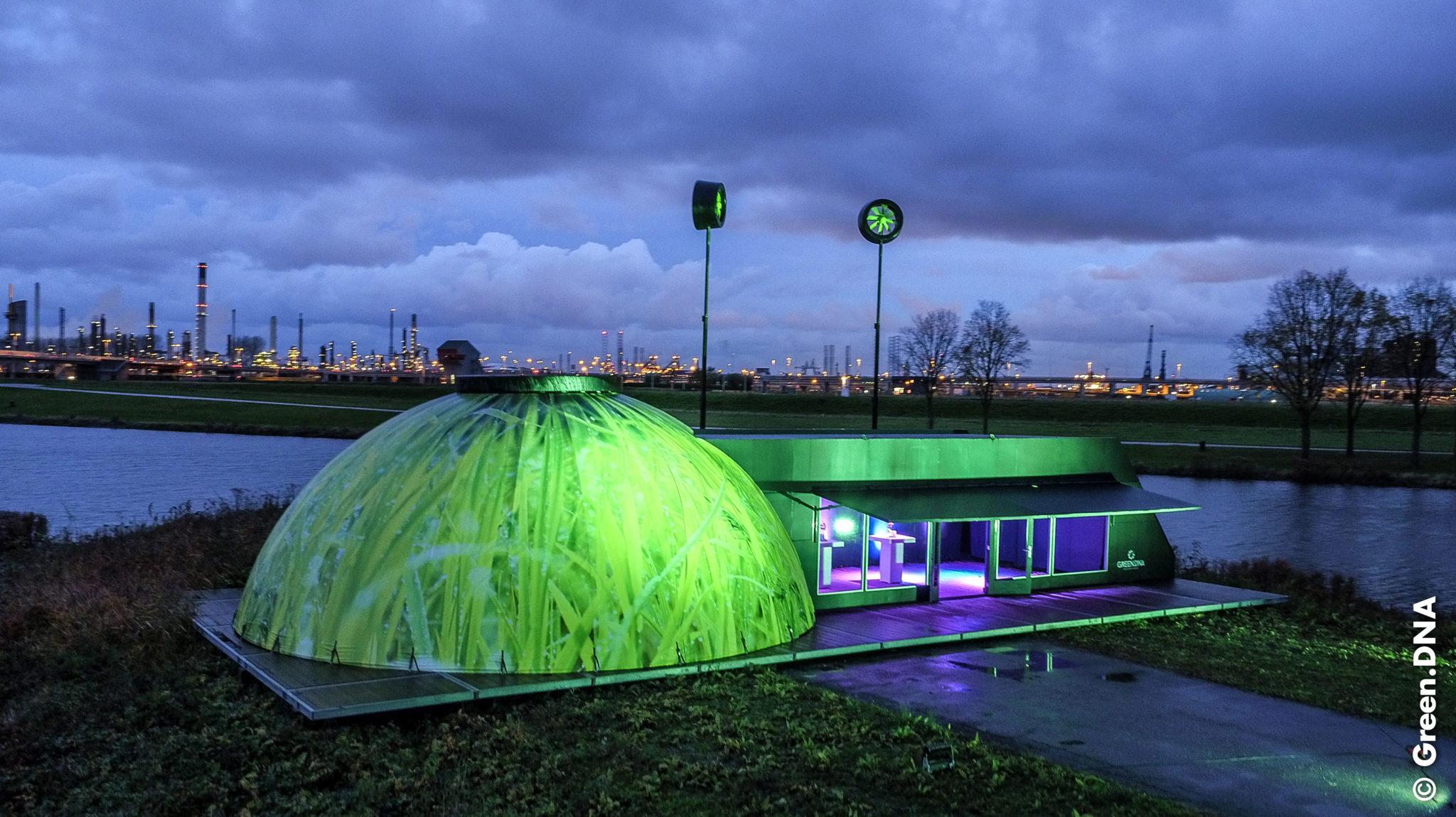 BioDome pop up mobiele evenementen bijzondere evenementenlocatie greendna