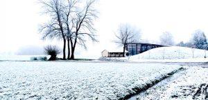 Evenementenlocatie veerkracht veluwe winter sneeuw