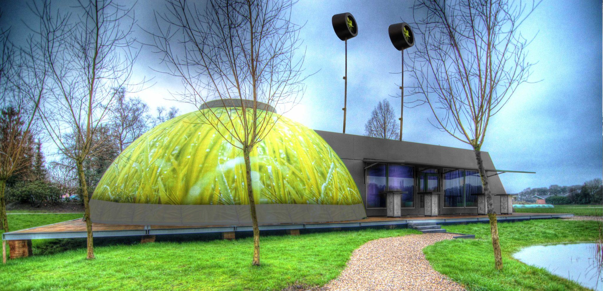BioDome pop up mobiele evenementen bijzondere locatie greendna