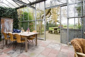 wintertuin vergaderlocatie het glazen huis