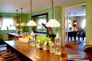 vergaderlocatie Apeldoorn Het Glazen Huis sfeervol eetkamer