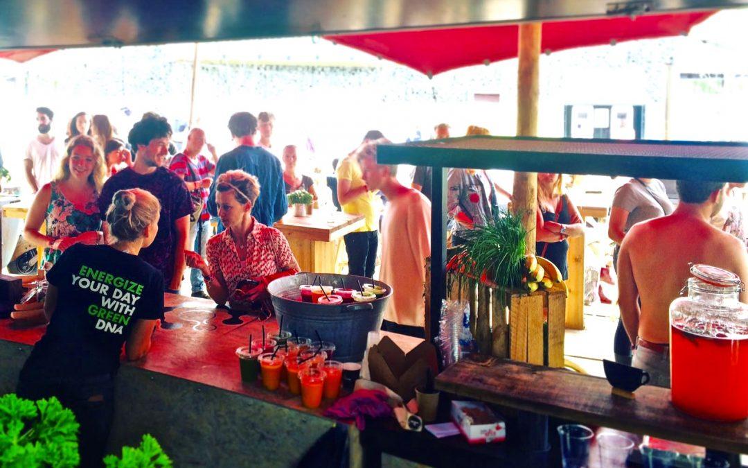 Persbericht: Green.DNA als cateraar op festivals