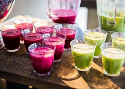 Evenementencatering GreenDNA smoothies