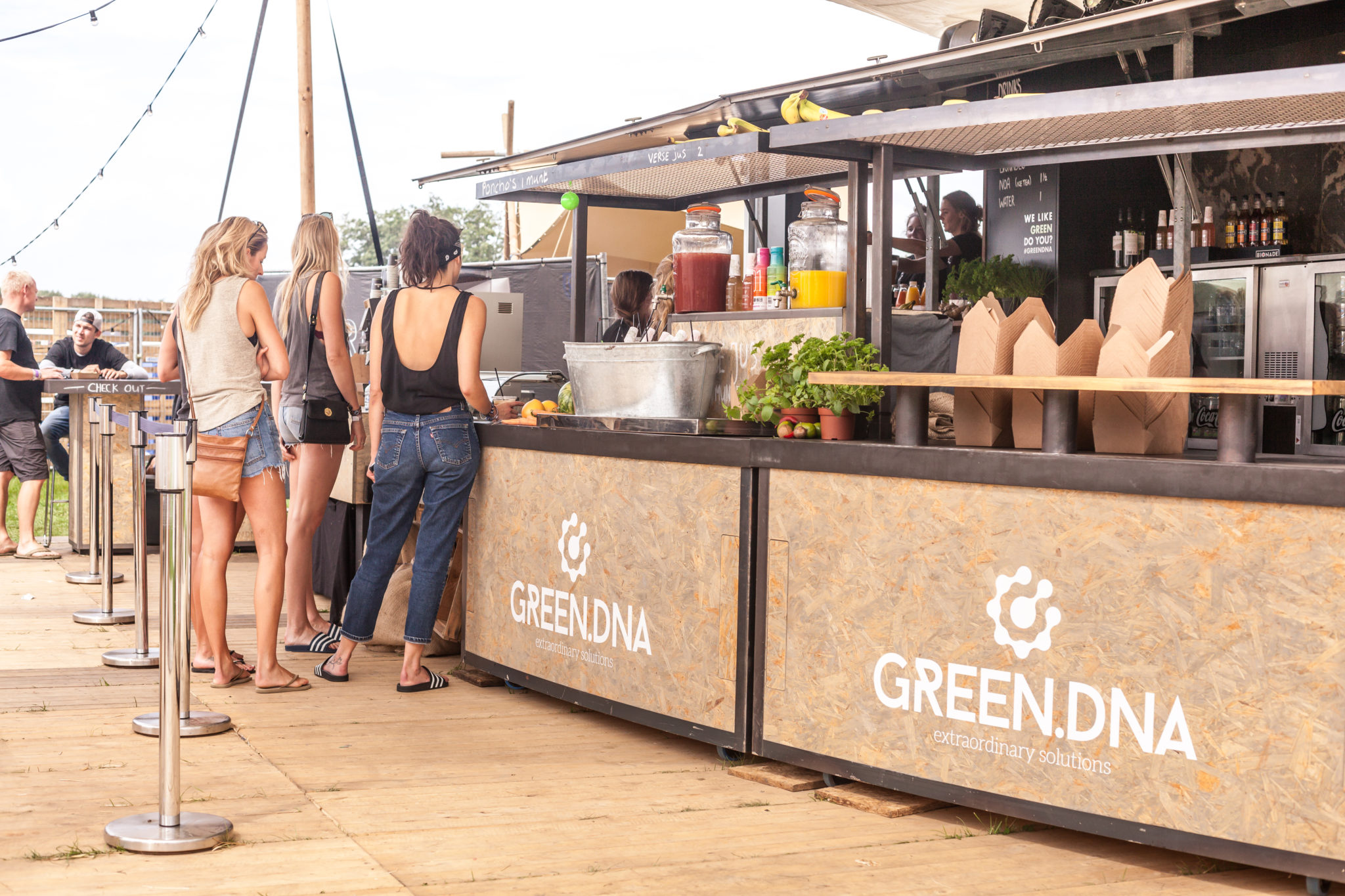 greendna evenementencatering festivals lowlands