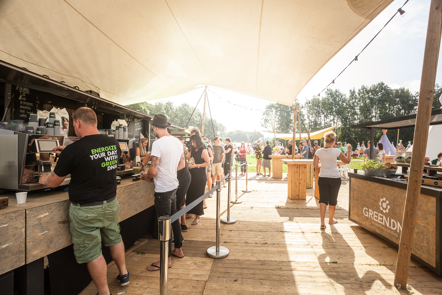 greendna evenementencatering lowlands festivals
