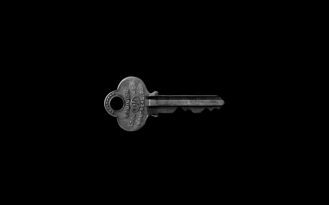 You have the key!
